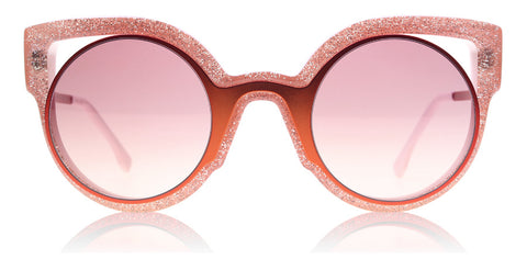 Fendi 0137 Paradeyes Orange / Glitter Pink NUG 4C 49mm
