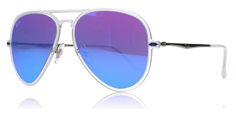 Ray-Ban 4211 Light Ray Matte Transparent 646/55