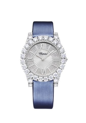 L'HEURE DU DIAMANT ROUND MEDIUM MEDIUM, AUTOMATIC, WHITE GOLD, DIAMONDS
