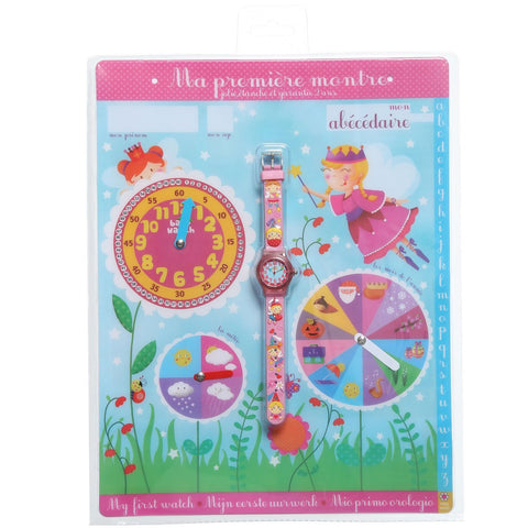 "Girls Pink Fairy ""My First Watch"" (19cm)"