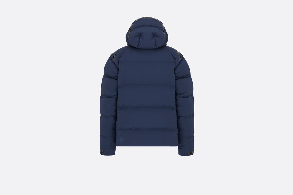 DIOR AND DESCENTE HOODED DOWN JACKET