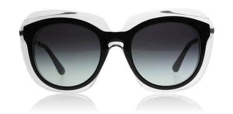 Dolce and Gabbana 4282 Top Black on Transparent 675/8G