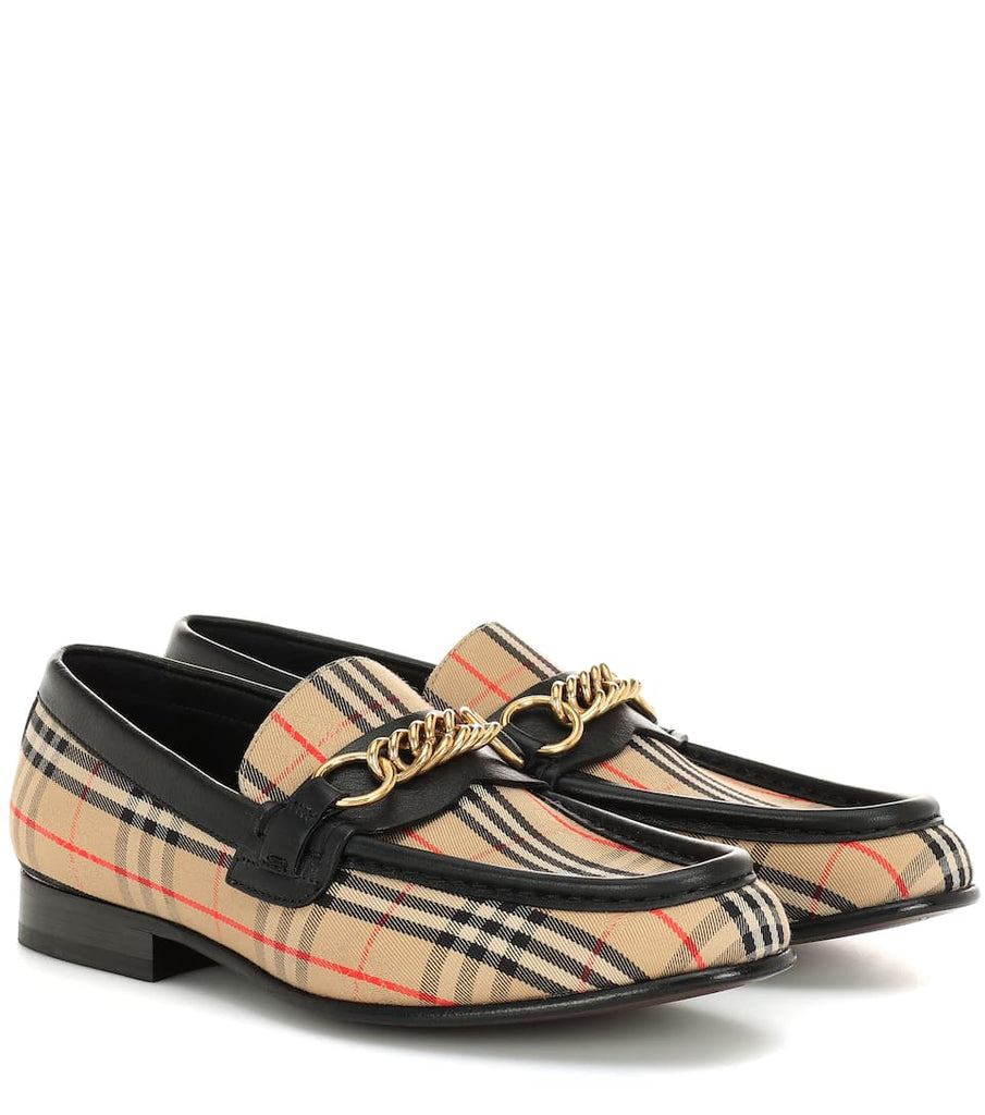 BURBERRY 1983 Check Link loafers - Salon3o, Kooperativa GO-RE z.b.o., Tupaliče 15, 4205 Preddvor,Slovenia,Europe.All rights reserved.