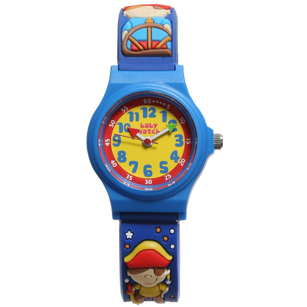 "Boys Blue Pirate ""My First Watch"" (19cm) - Salon3o, Kooperativa GO-RE z.b.o., Tupaliče 15, 4205 Preddvor,Slovenia,Europe.All rights reserved."