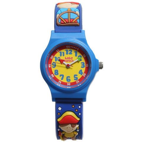 "Boys Blue Pirate ""My First Watch"" (19cm)"