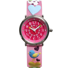 Girls Pink Love Watch (20cm) - Salon3o, Kooperativa GO-RE z.b.o., Tupaliče 15, 4205 Preddvor,Slovenia,Europe.All rights reserved.