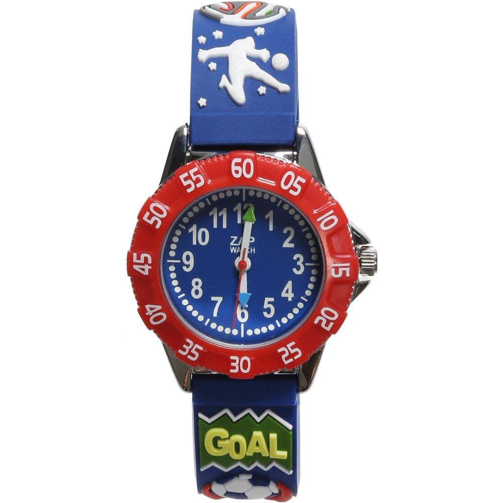 Boys Blue Football Watch (21cm) - Salon3o, Kooperativa GO-RE z.b.o., Tupaliče 15, 4205 Preddvor,Slovenia,Europe.All rights reserved.