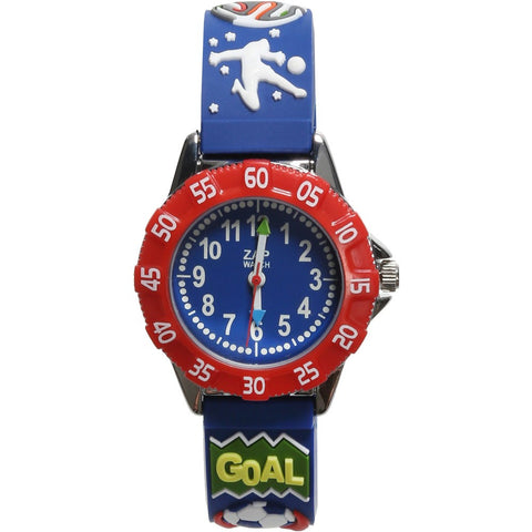 Boys Blue Football Watch (21cm)