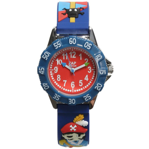 Boys Blue Pirate Watch (21cm)