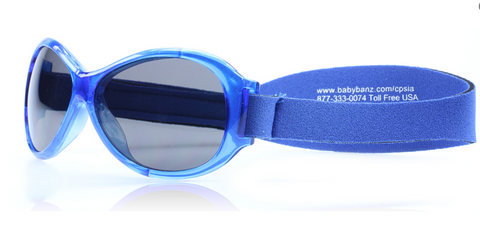 Baby Banz Retro Banz 0-2 years Blue Baby 52mm