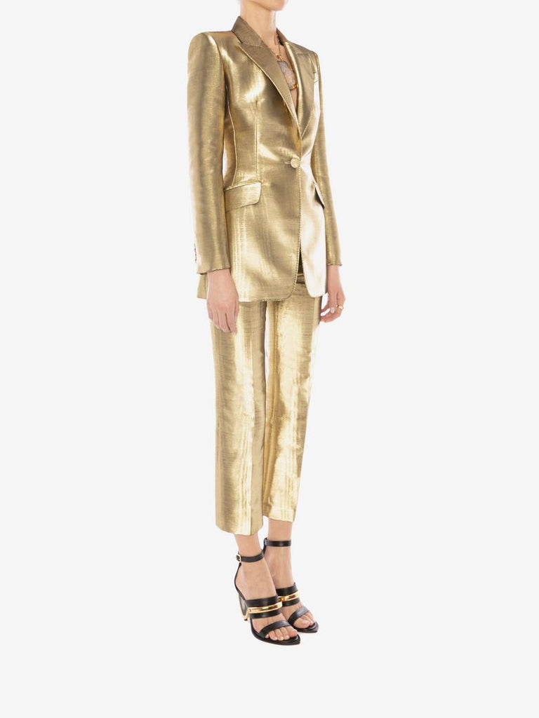 METALLIC MOIRÉ JACKET