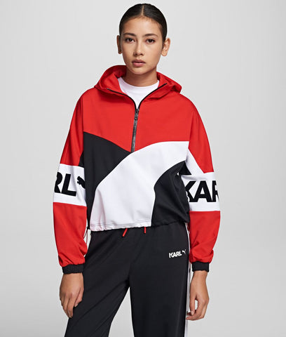 PUMA X KARL HALF-ZIP TRACK TOP