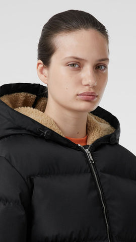 Logo Detail ECONYL® Puffer Jacket RUNWAY collection
