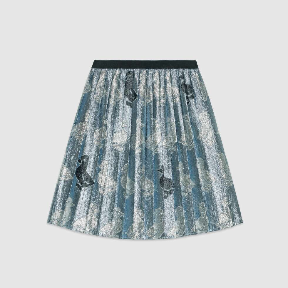 Children's duck jacquard skirt - Salon3o, Kooperativa GO-RE z.b.o., Tupaliče 15, 4205 Preddvor,Slovenia,Europe.All rights reserved.
