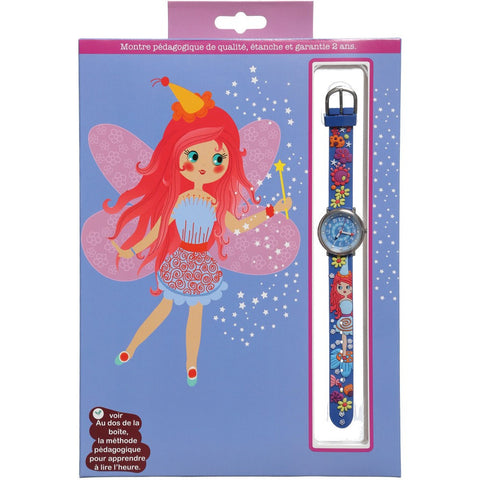 Girls Blue Fairy Watch (20cm)