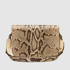 Gucci Horsebit 1955 python small shoulder bag