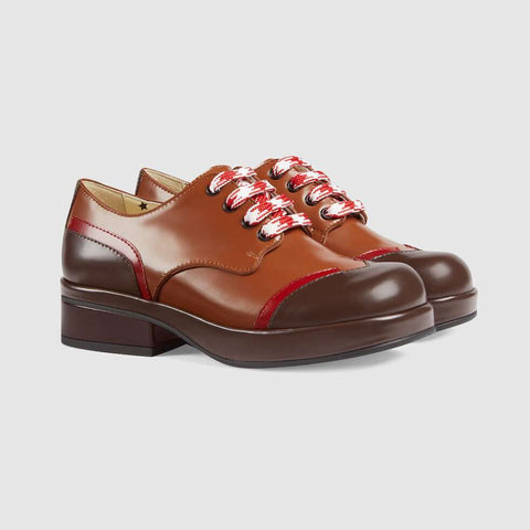 Children's leather shoe