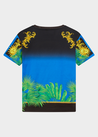 YOUNG VERSACE JUNGLE PRINT T-SHIRT
