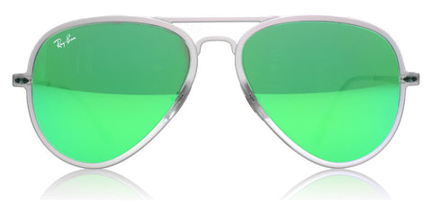 Ray-Ban 4211 Light Ray Matte Transparent 646/3R