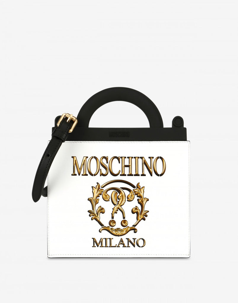 ROMAN DOUBLE QUESTION MARK MINI SHOPPING BAG - Salon3o, Kooperativa GO-RE z.b.o., Tupaliče 15, 4205 Preddvor,Slovenia,Europe.All rights reserved.