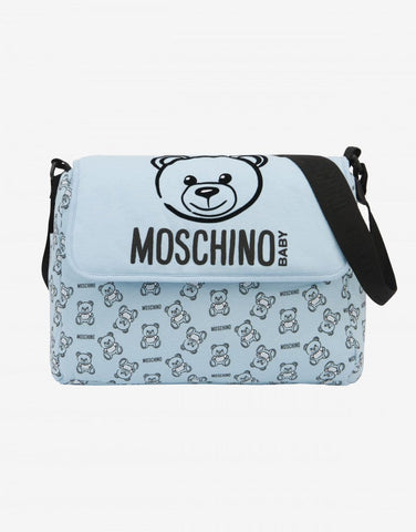 MUM BAG WITH TEDDY BEAR PRINT