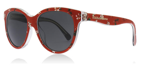 Dolce and Gabbana DG4176 Matt Silk Rose / Red 298787 49mm
