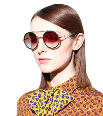 GUCCI Exclusive – Round sunglasses love - Salon3o, Kooperativa GO-RE z.b.o., Tupaliče 15, 4205 Preddvor,Slovenia,Europe.All rights reserved.