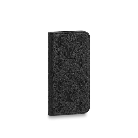 Louis Vuitton iPhone leather monogram case X & XS