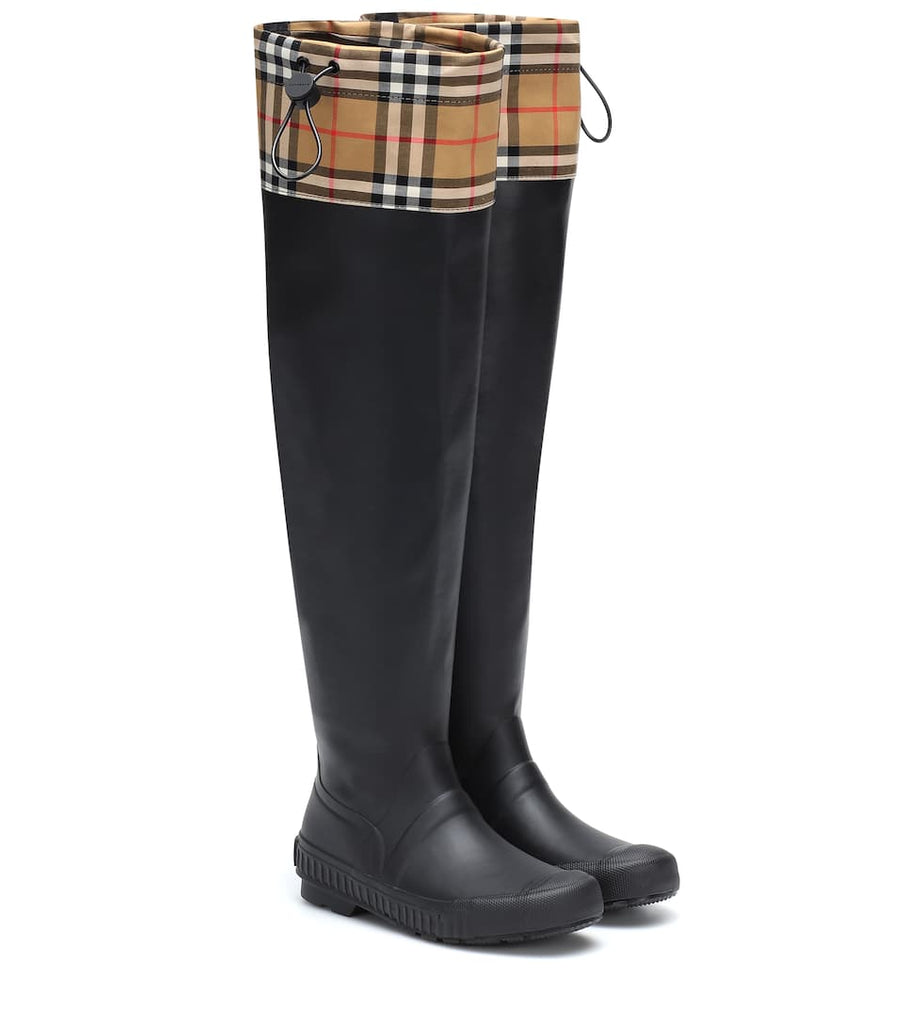 BURBERRY Check and rubber boots - Salon3o, Kooperativa GO-RE z.b.o., Tupaliče 15, 4205 Preddvor,Slovenia,Europe.All rights reserved.
