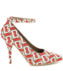 BURBERRY Wiltkin printed leather pumps - Salon3o, Kooperativa GO-RE z.b.o., Tupaliče 15, 4205 Preddvor,Slovenia,Europe.All rights reserved.