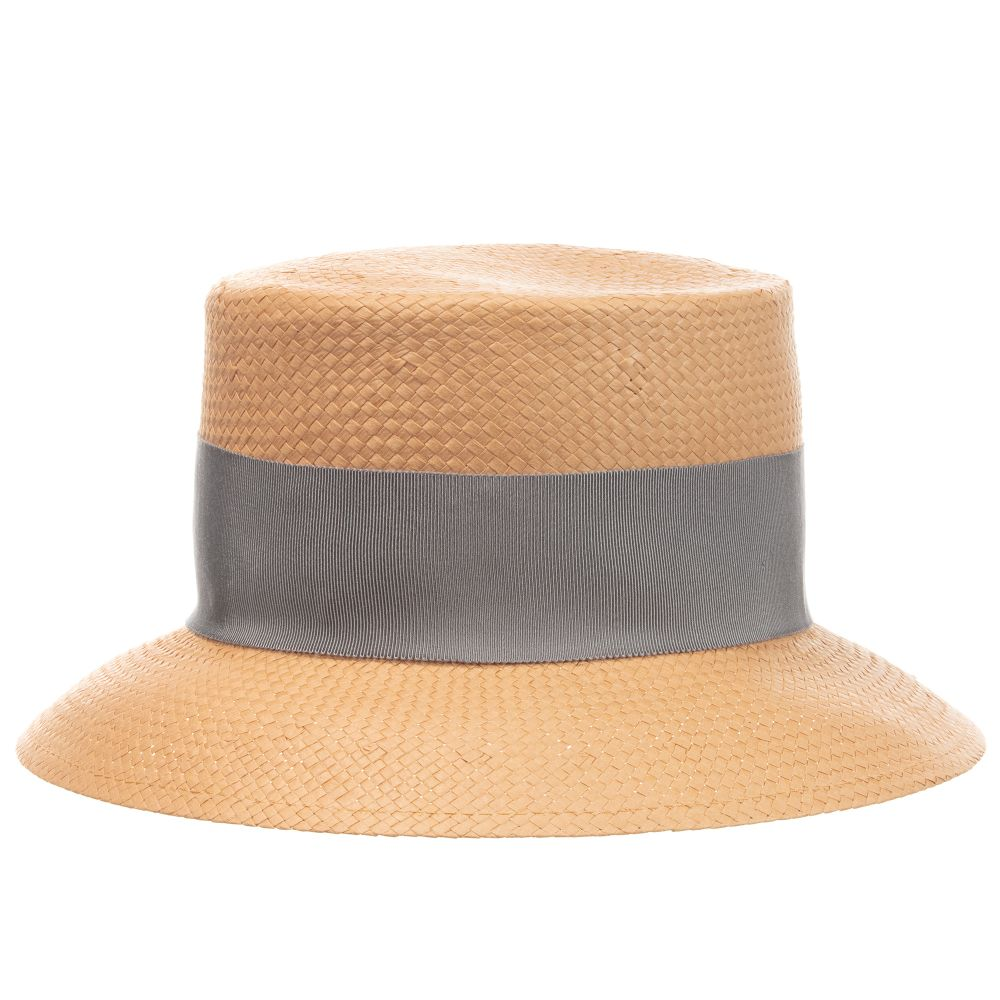 Il Gufo Girls Beige Straw Sun Hat - Salon3o, Kooperativa GO-RE z.b.o., Tupaliče 15, 4205 Preddvor,Slovenia,Europe.All rights reserved.