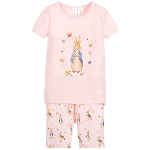 PETER RABBIT™ BY SALON 3O Girls Cotton Short Pyjamas