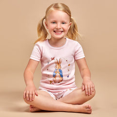 PETER RABBIT™ BY SALON 3O Girls Cotton Short Pyjamas - Salon3o, Kooperativa GO-RE z.b.o., Tupaliče 15, 4205 Preddvor,Slovenia,Europe.All rights reserved.