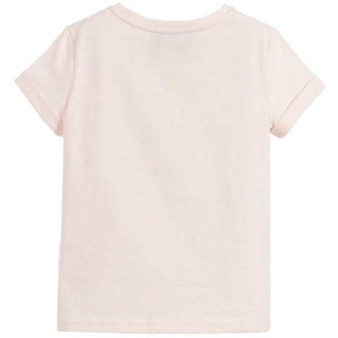 GUCCI Girls Distressed Print T-Shirt