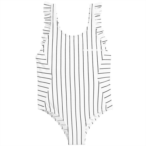Girls Striped Swimwear