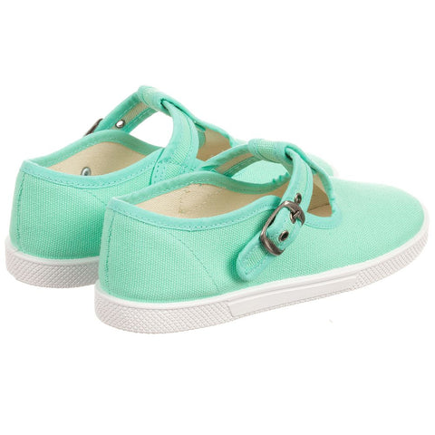 KIKU Aqua Canvas Shoes