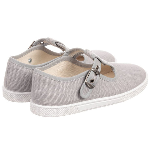 KIKU Grey Canvas Shoes