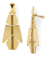 Geometric-Shaped Drop Earrings - Salon3o, Kooperativa GO-RE z.b.o., Tupaliče 15, 4205 Preddvor,Slovenia,Europe.All rights reserved.