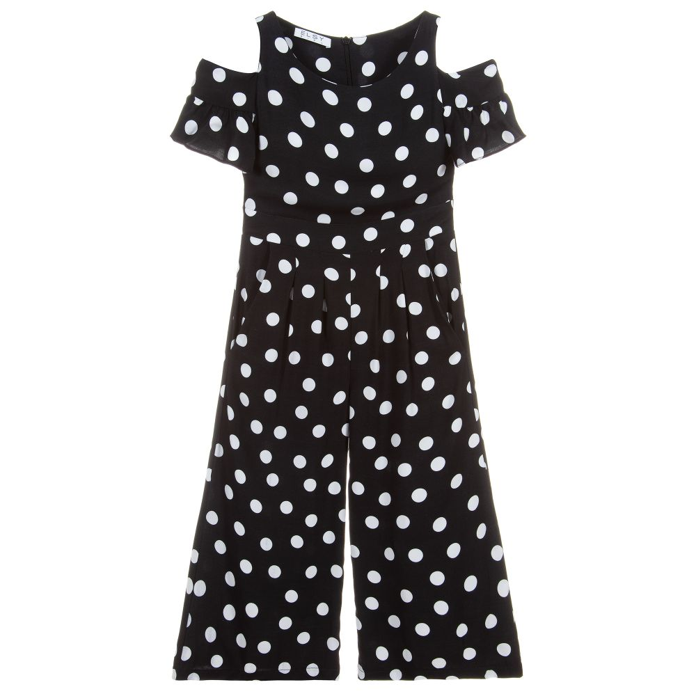 Elsy Girls Polka Dot Jumpsuit - Salon3o, Kooperativa GO-RE z.b.o., Tupaliče 15, 4205 Preddvor,Slovenia,Europe.All rights reserved.