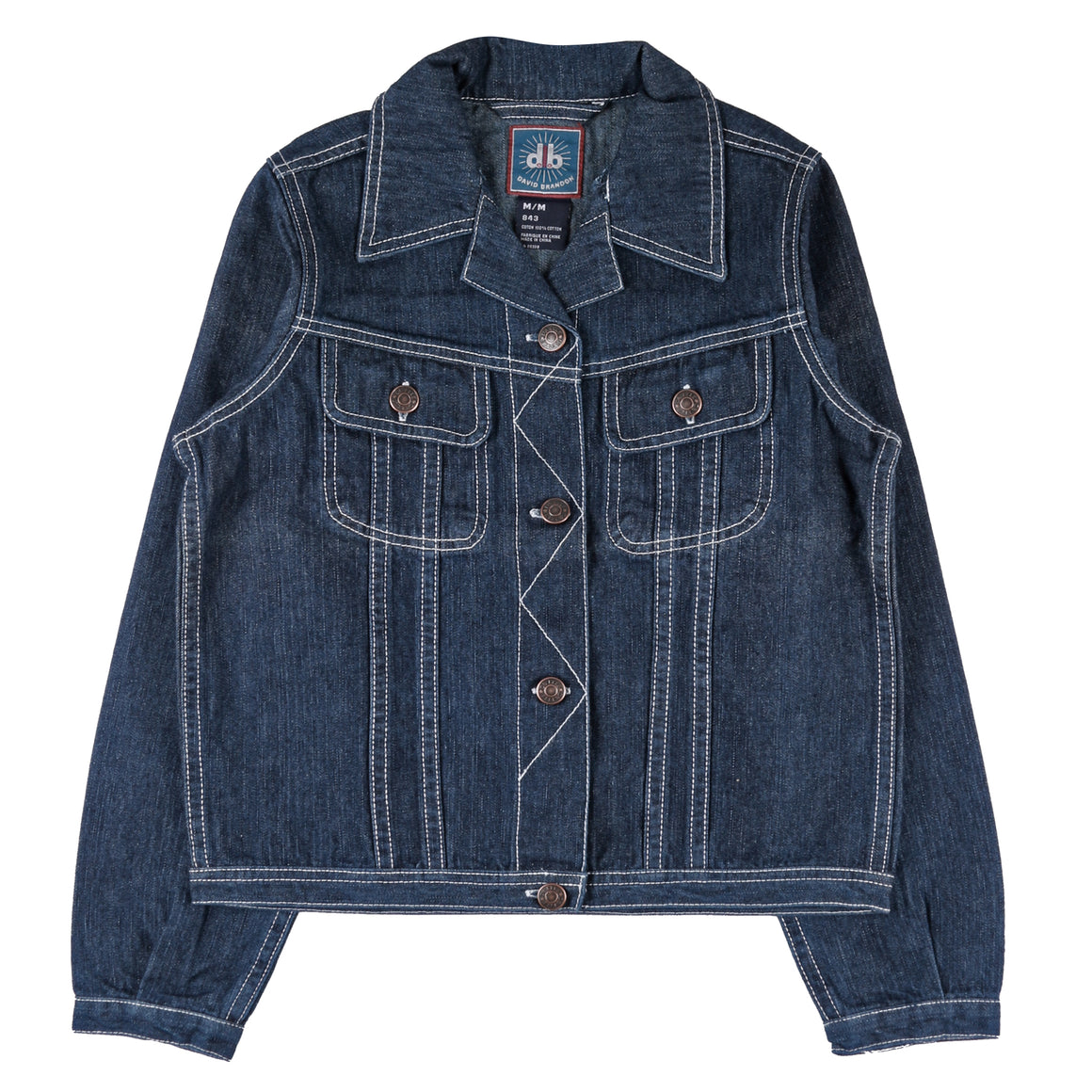 Junior Girl's Boho Denim Jacket
