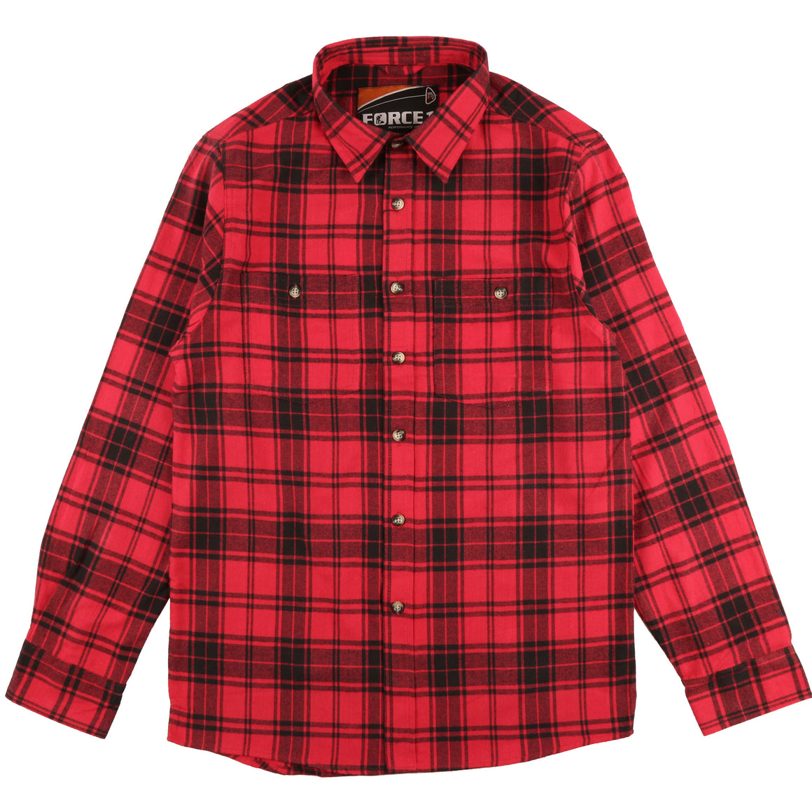 Chemise en flanelle / Flannel Shirt - ROUGE/RED