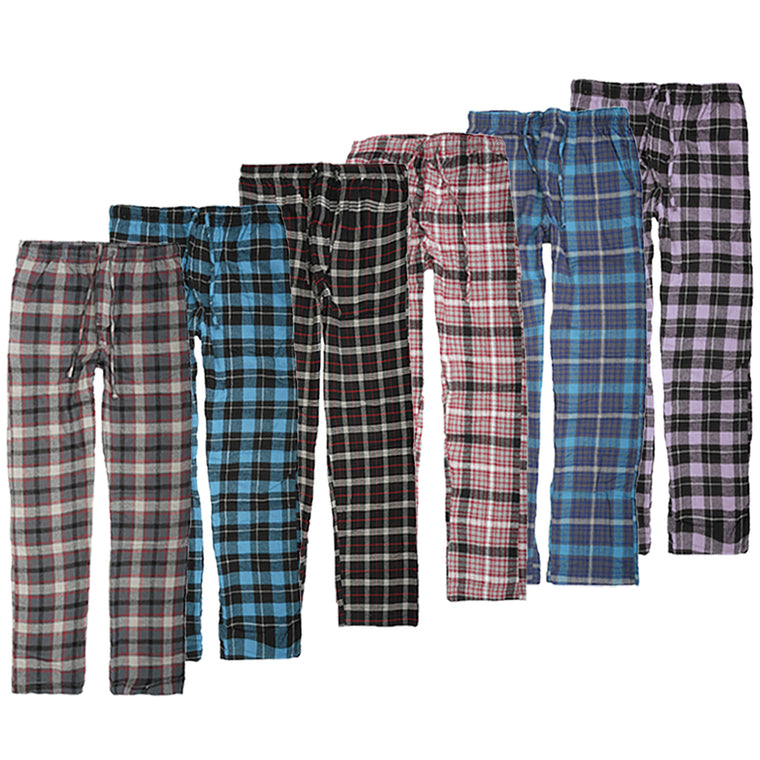 Pantalon en Flanelle (Paquet de Six) - Flannel Lounge Pant (Pack of Six)