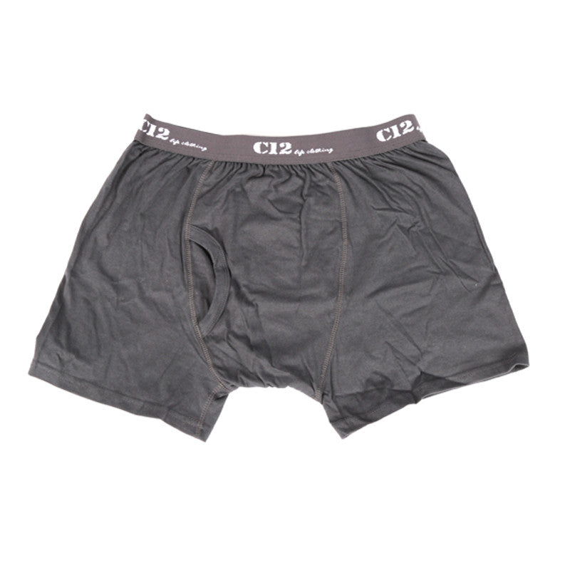 Accessories - Boxer Brief Long Leg - Charcoal