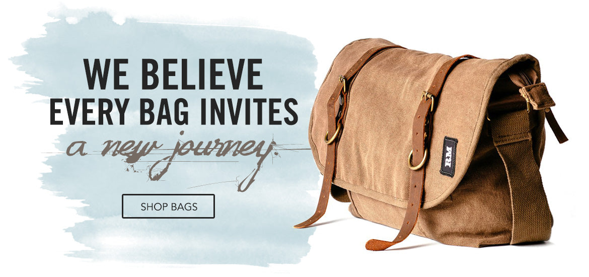 every bag invites a new journey