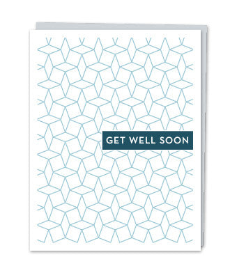 Get Well Soon Card by Design with Heart