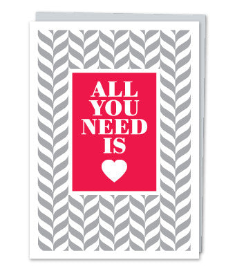 All You Need is Love by Design with Heart