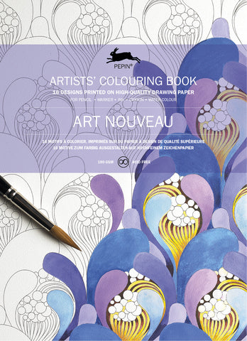 Art Nouveau Artists' Colouring Book