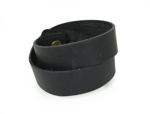 Double Wrap Wristband Black