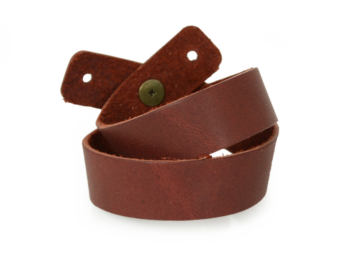 Double Wrap Wristband Burgundy