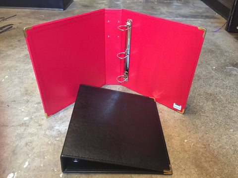 Large Hardcover Binder by Robert Mason Brass Collection